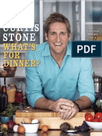 Recipe from What's for Dinner? by Curtis Stone