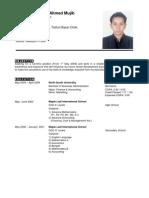 Chowdhury Moin Ahmed Mujib (CV)