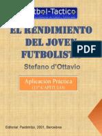 entrenamiento joven futbolista 11º