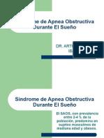 sindrome de apnea obstructiva durante el sueño