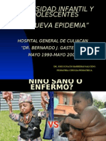 obesidad infantil 2007