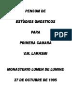 Pensum 1era Camara