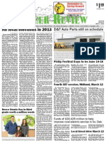 Pioneer Review, March 7, 2013