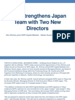 KKR (Founded by Henry Kravis & George Roberts) Strengthens Japan Team with Two New Directors