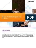 Personal Repeaters 3G QUALCOMM