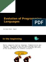 Evolution of Programming