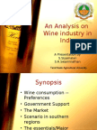 An Analysis on Indian Wine INdustry