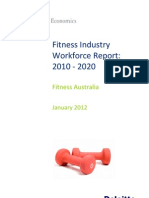 Deloitte Access Economics - Fitness Industry Workforce Report 2010 - 2020 (2012)