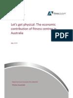 Deloitte Access Economics - The Economic Contribution of Fitness Centres in Australia (2012)