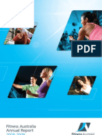 Fitness Australia - Annual Report 2008 - 2009