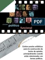 Lenguaje político y funcional