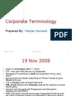 Corporate Terminology