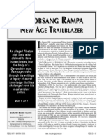 T. Lobsang Rampa New Age Trailblazer