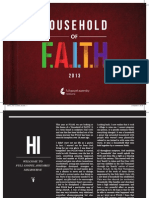 Household of FAITH Booklet 2013