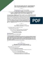 20090103 frdm TVA Psychologues Psychanalystes Psychothérapeutes Ostéopathes Soins, Exonération, Textes