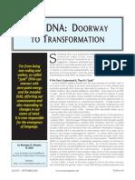 Junk DNA - Doorway to Transformation