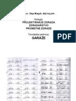 Garaze - Skripta - Prometne Zgrade - Olga Magas