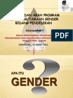 Gender Bidang Pendidikan