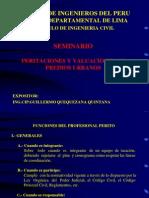 Diapostivas Introduccion Tasacion Caja Municipal de Piura