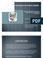 Cavitacion Bellido , Gonzales , Valdez