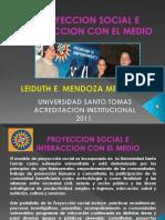 Proyeccion Social e Interaccion Con El Medio