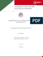 Desempeño Antisismico de Edificio Educativo - Huerta Aucasime Yannet