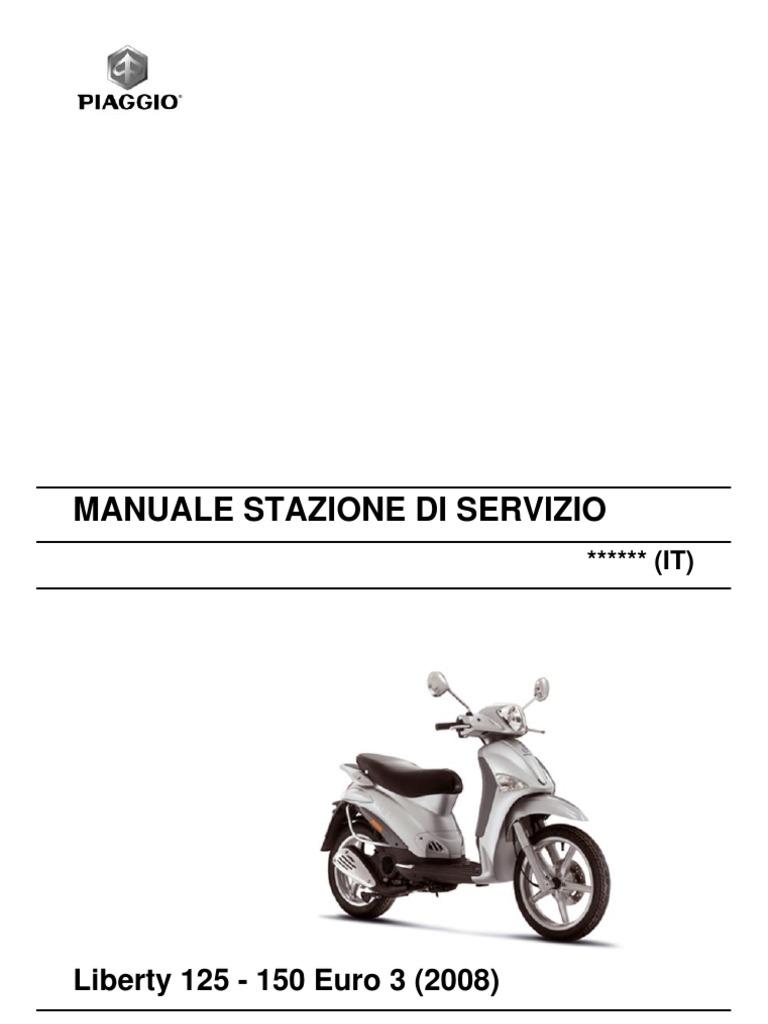 piaggio liberty 125 150 euro3 my 2008 en carburetor rh scribd com piaggio beverly 125 workshop manual Piaggio Beverly 200
