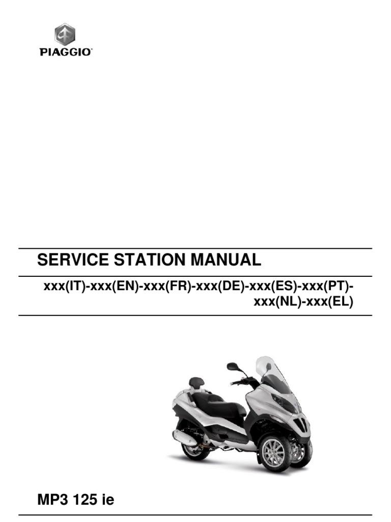 Piaggio Mp3 125 Ie En Motor Oil Transmission Mechanics Vespa 150 Lx Fuse Box