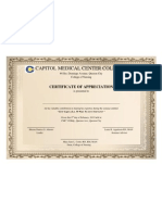 Cert for Speaker