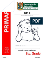 Preenlace Bloque 1 y 2 Sexto Grado Tamaulipas