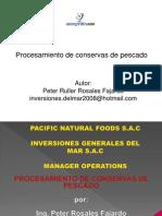 Procesamiento Conservas Pescado