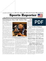 March 6 - 12, 2013 Sports Reporter