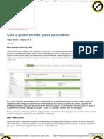 Crea tu propio servidor gratis con ClearOS · pcactual.com · Paso a paso Software