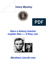 History Mystery Have a History Teacher Explain This----- If