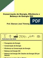 5 - Conservação de Energia e Balanço de Energia Útil