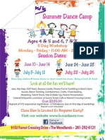 Bonis Summer Dance Camps Both Locations