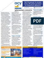 Pharmacy Daily for Thu 07 Mar 2013 - Complementary concerns, GMiA, Vaccinations and much more...