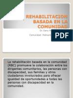 Rehabilitacion Basada en La Comunidadxx