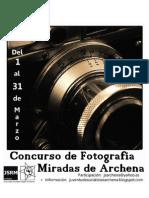 Bases i Concurso FotogrÁfico 1