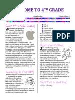 Newsletter Technology Class
