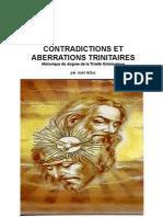 Contradictions et Aberrations Trinitaires