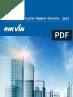 Singapore Government Grants 2013