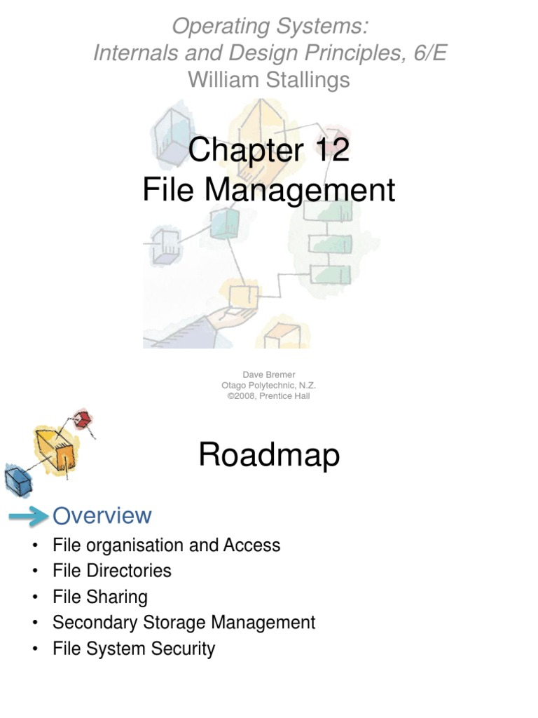 File Management Operating Systems Internals And Design Principles 6 E Database Index Computer File Free 30 Day Trial Scribd