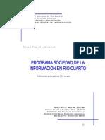 2005-PROGRAMA SOCIEDAD DE LA INFORMACION EN RIO CUARTO