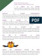 Decálogo Para Formar Hijos Lectores
