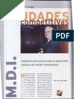 CIUDADES COMPETITIVAS. INMOBILIARE (Publicado en 2003)