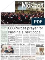 CBCP Monitor Vol. 17 No. 5