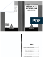 Adela Cortina - La Ética de la Sociedad Civil