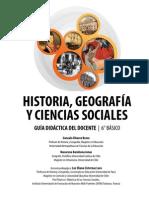 Texto del docente Historia, geografía y Ciencias Sociales 6° básico