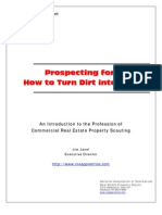 Property Scout  Introduction-- Prospecting for Profits